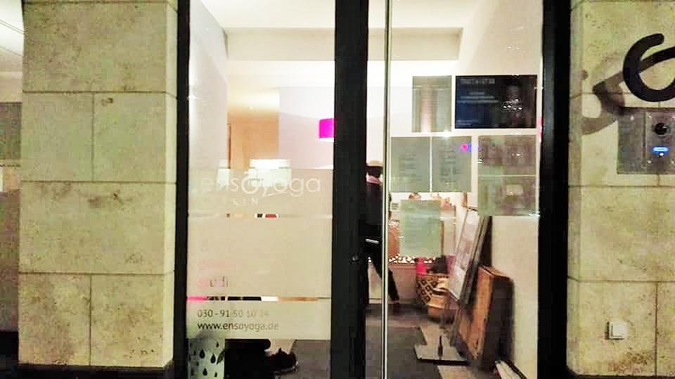 ensoyogaのスタジオ写真