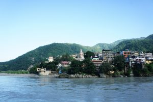 ヒマラヤ山脈とガンジス川