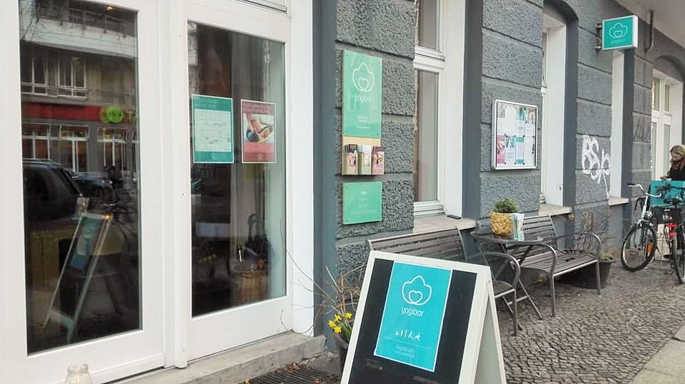 yogibarのスタジオ入口