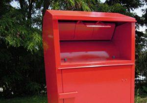 衣類回収ボックス
